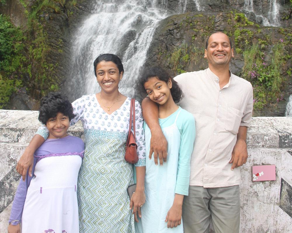 Indisches Familientreffen