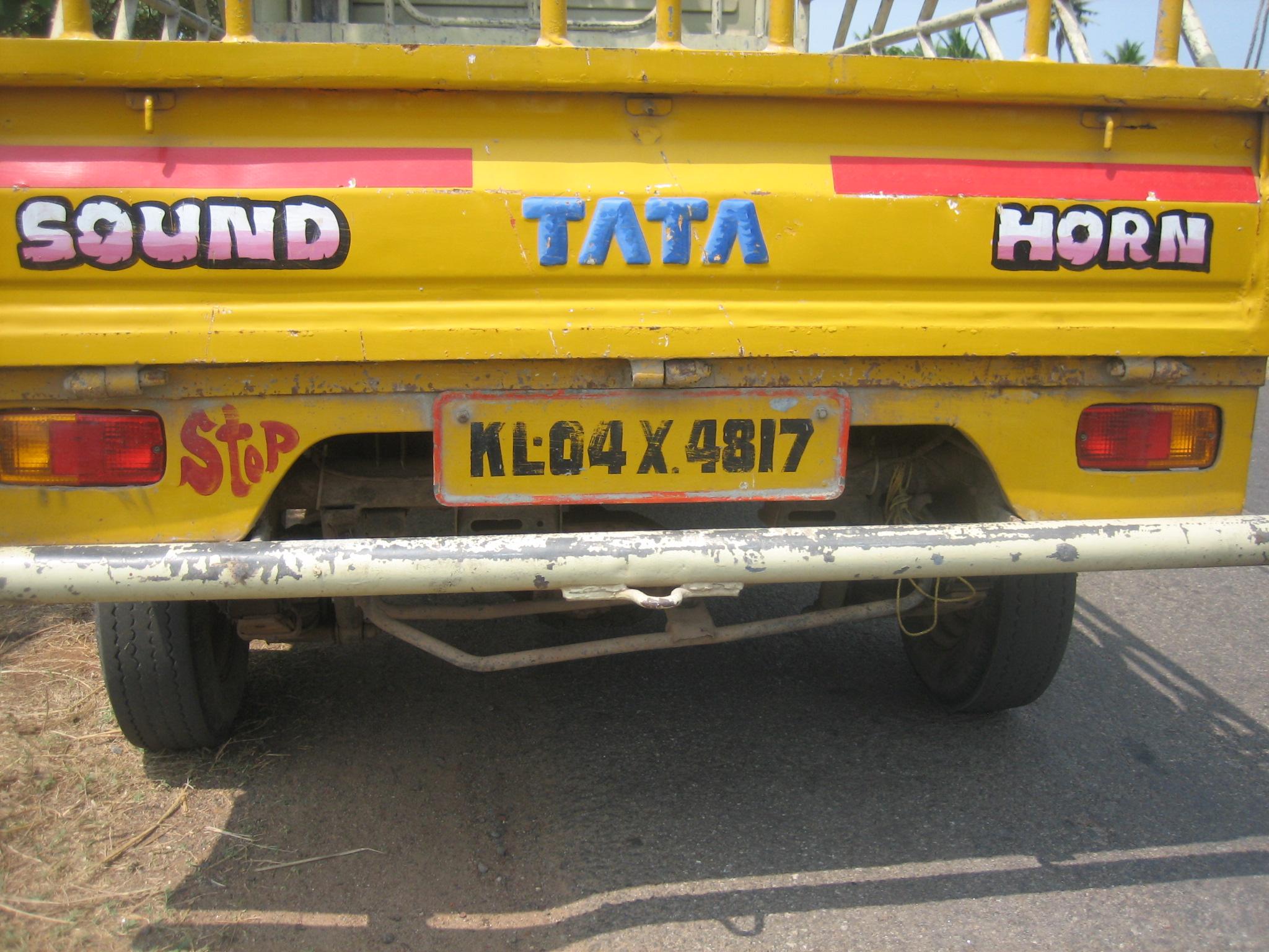 Bunter indischer Transporter