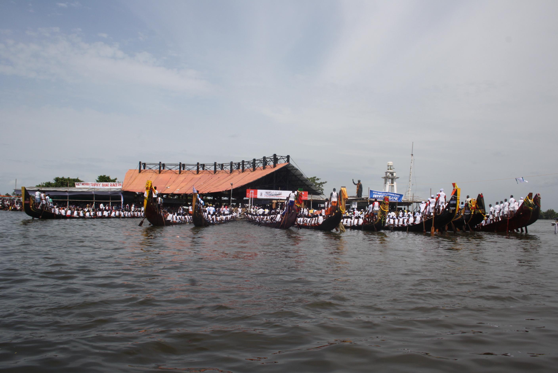 Bootsrennen zur Nehru Trophy 2014