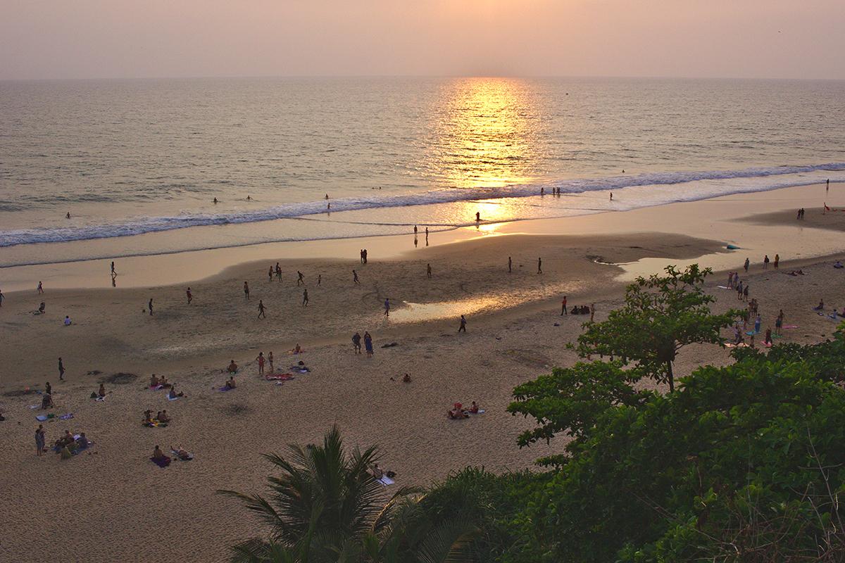 Trubel Tempel Tee und mehr - Sonnenuntergang am Strand