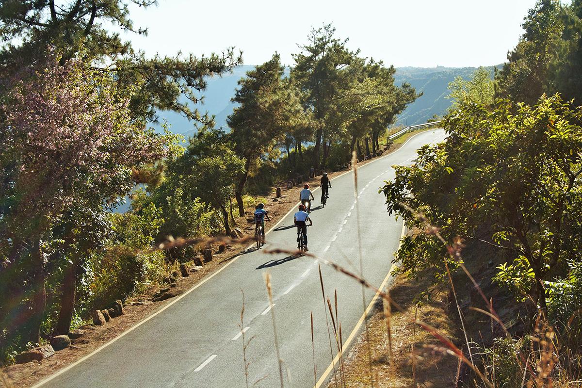 Megahalaya - Bergroute