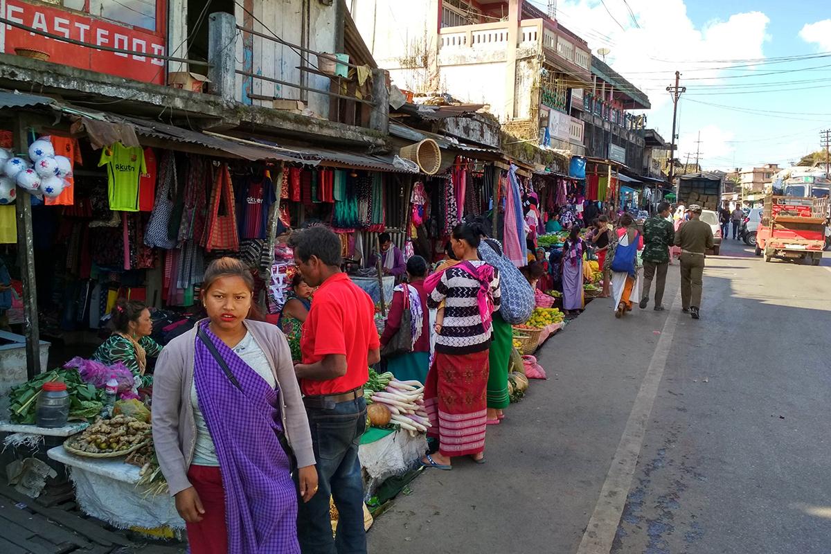 Megahalaya - Einblick in die Innenstadt