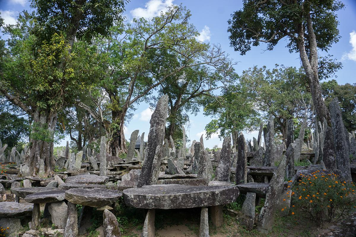 Megahalaya - Steingebilde